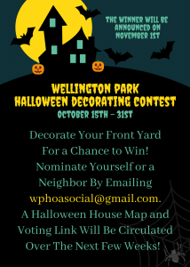 Halloween Home Decorating Contest